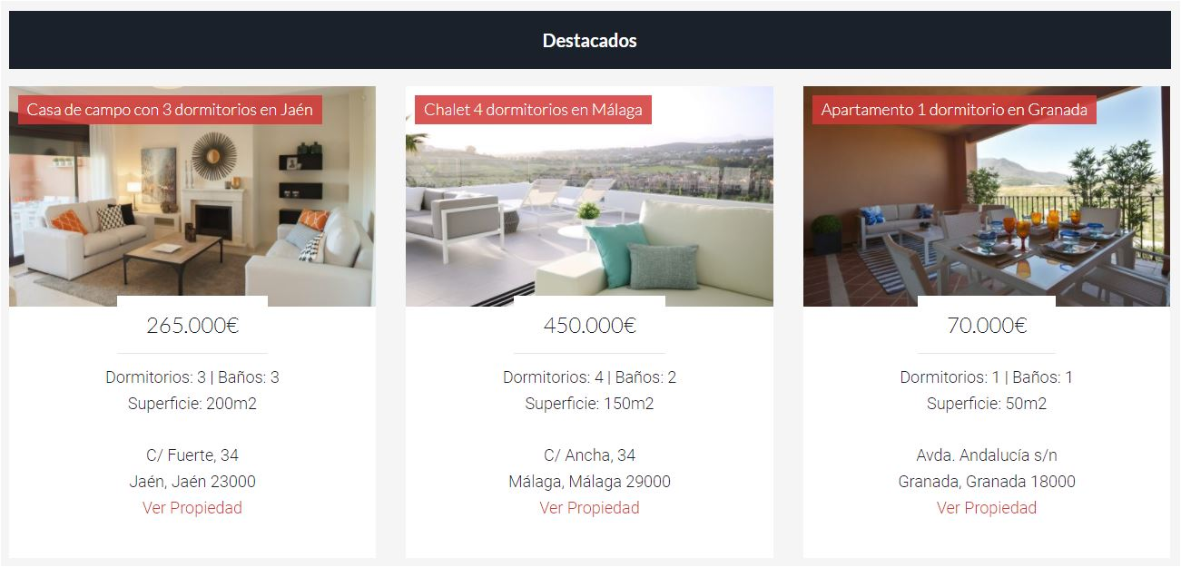 resultados de extended featured listings